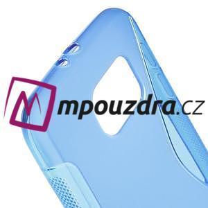Gélové s-line puzdro na Samsung Galaxy S6 - modré - 4
