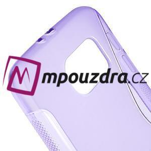 Gélové s-line puzdro na Samsung Galaxy S6 - fialové - 4