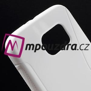 Gélové s-line puzdro pre Samsung Galaxy S6 - biele - 4