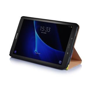 Picture polohovatelné puzdro na Samsung Galaxy Tab A 10.1 (2016) - plážovky - 4