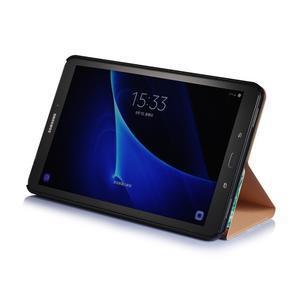 Picture polohovatelné puzdro na Samsung Galaxy Tab A 10.1 (2016) - strom - 4
