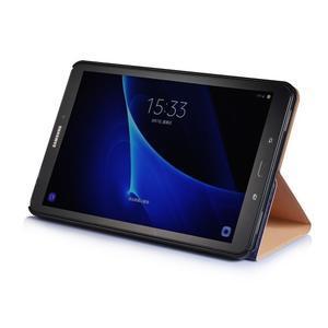 Picture polohovatelné puzdro pre Samsung Galaxy Tab A 10.1 (2016) - vintage - 4