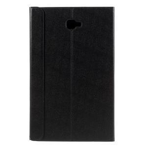 Flippy štýlové puzdro na Samsung Galaxy Tab A 10.1 (2016) - čierné - 4
