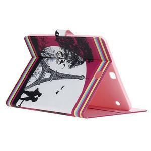 Emotive puzdro pre tablet Samsung Galaxy Tab S2 9.7 - láska pod Eiffelkou - 4