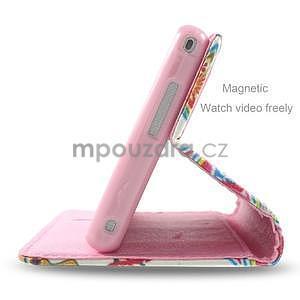 Peňaženkové puzdro na mobil Sony Xperia M2 - mandala - 4
