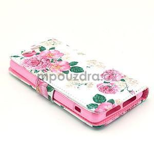 Puzdro pre mobil Sony Xperia Z1 Compact - kvety - 4