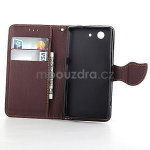Leaf Peňaženkové puzdro pre Sony Xperia Z3 Compact - čierne - 4