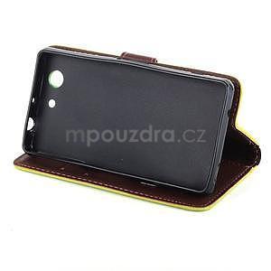 Leaf Peňaženkové puzdro pre Sony Xperia Z3 Compact - zelené - 4