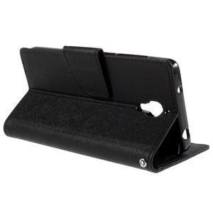 Kožené puzdro na Xiaomi Mi4 - čierné - 4