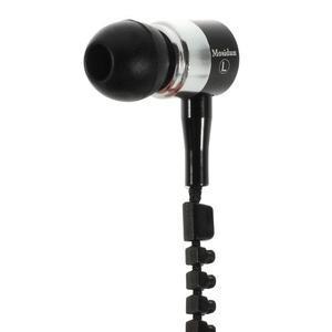Zippy pecková slúchadlá pre počúvanie hudby - čierne - 4