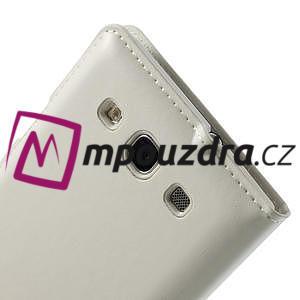 Luxusní pěněženkové puzdro na Samsung Galaxy S3 i9300 - biele - 4