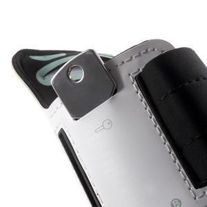 Fittsport puzdro na ruku pre mobil do rozmerov 143.4 x 70,5 x 6,8 mm - biele - 4