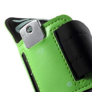 Fittsport puzdro na ruku pre mobil do rozmerov 143.4 x 70,5 x 6,8 mm - zelené - 4