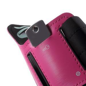Fittsport pouzdro na ruku pro mobil do rozměrů 143.4 x 70,5 x 6,8 mm - rose - 4