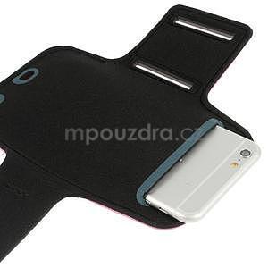 Soft puzdro na mobil vhodné pre telefóny do 160 x 85 mm -  rose - 4