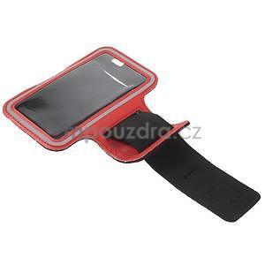Gymfit športové puzdro pre telefón do 125 x 60 mm - červené - 4