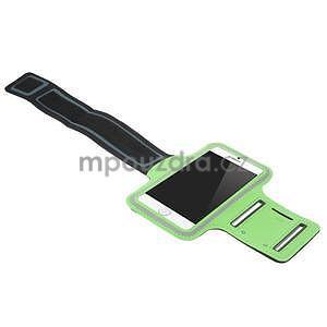 Gymfit športové puzdro pre telefón do 125 x 60 mm - zelené - 4
