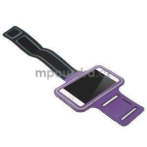 Gymfit športové puzdro pre telefón do 125 x 60 mm - fialové - 4