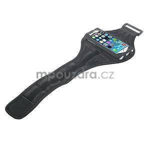 Absorb športové puzdro na telefón do veľkosti 125 x 60 mm - čierne - 4