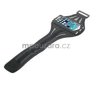 Absorb športové puzdro na telefón do veľkosti 125 x 60 mm - šedé - 4