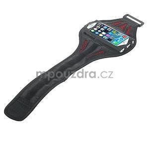 Absorb športové puzdro na telefón do veľkosti 125 x 60 mm -  červené - 4