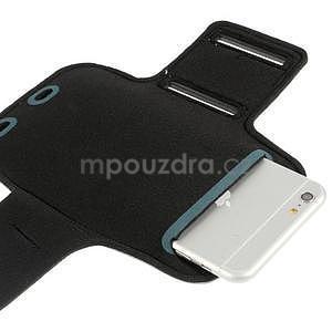 Soft puzdro na mobil vhodné pre telefóny do 160 x 85 mm -  šedé - 4