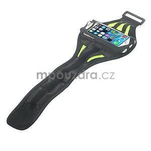Absorb športové puzdro na telefón do veľkosti 125 x 60 mm -  zelené - 4