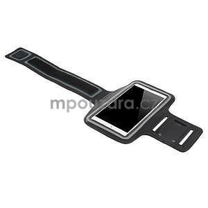 Bežecké puzdro na ruku pre mobil do veľkosti 152 x 80 mm - čierne - 4