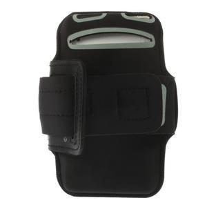 Všestranné puzdro na ruku do rozmeru telefónu 146 x 73 mm - čierne - 4