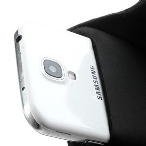 Sports Gym puzdro na ruku pre veľkosť mobilu až 140 x 70 mm - čierne - 4