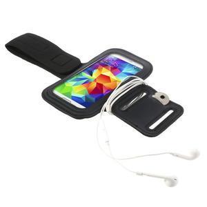 Fit Gym puzdro na ruku pre telefón až do veľkosti 145 x 73 mm - čierne - 4