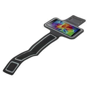 Fitsport puzdro na ruku pre mobil do veľkosti až 145 x 73 mm - čierne - 4