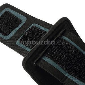 Soft puzdro na mobil vhodné pre telefóny do 160 x 85 mm - svetlomodré - 4