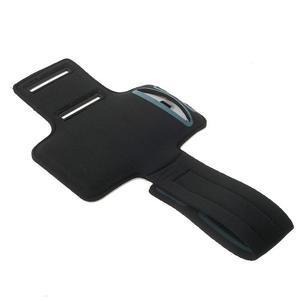 Fitsport puzdro na ruku pre mobil do veľkosti až 145 x 73 mm - oranžové - 4