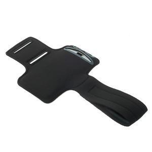 Fitsport puzdro na ruku pre mobil do veľkosti až 145 x 73 mm - zelené - 4