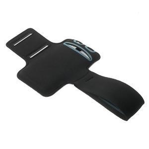 Fitsport puzdro na ruku pre mobil do veľkosti až 145 x 73 mm - fialové - 4