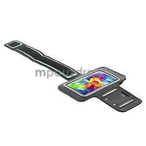Run bežecké puzdro na mobil do veľkosti 131 x 65 mm - čierne - 4