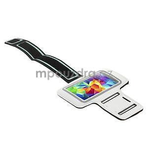 Run bežecké puzdro na mobil do veľkosti 131 x 65 mm - biele - 4