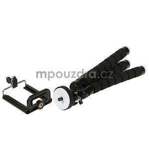Trojnožkový stativ pre mobilní telefony - čierny - 4