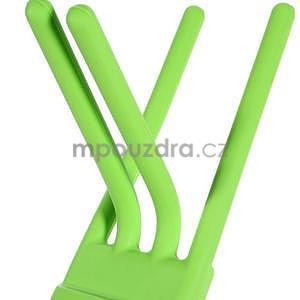 Tvarovatelný stojánek na mobil, zelený - 4
