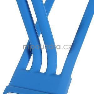 Tvarovatelný stojánek na mobil, modrý - 4