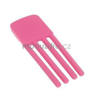 Tvarovatelný stojánek na mobil, růžový - 4
