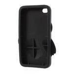 silikónové puzdro pre iPod Touch 4 - hnedá sova - 4/5