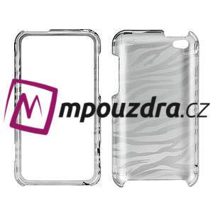Plastové puzdro pre iPod Touch 4 - zebrované - 4