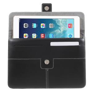 Business univerzální pouzdro na tablet do rozměru 226 x 149 mm - černé - 4