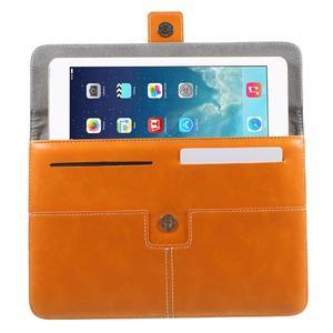Business univerzální pouzdro na tablet do rozměru 226 x 149 mm - oranžové - 4
