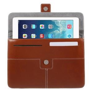 Business univerzálne puzdro pre tablet do rozmerov 226 x 149 mm - hnedé - 4