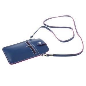 Univerzálne puzdro/kapsička pre mobil do rozmerov 180 x 110 mm - modré - 4