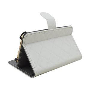 Luxury univerzálne puzdro pre mobil do 148 x 76 x 21 mm - biele - 4