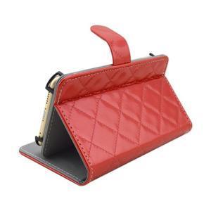 Luxury univerzálne puzdro pre mobil do 148 x 76 x 21 mm - červené - 4